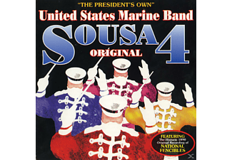 United States Marine Band - Sousa Original 4 - (CD)