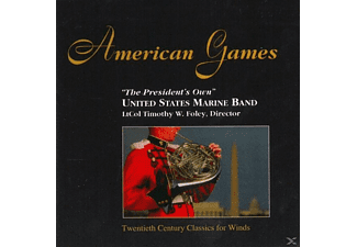 United States Army Marine Band - American Games - (CD)