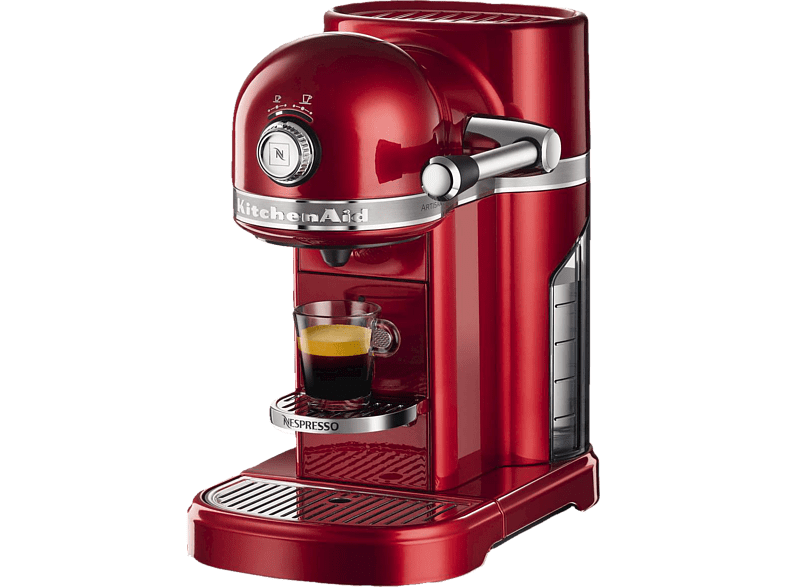 KITCHENAID 5KES0503EER Nespresso Kapselmaschine, Candy Apple