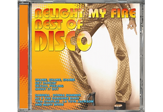VARIOUS - Best Of Disco-Relight My Fire - (CD)