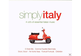 VARIOUS - Simply Italy - (CD)