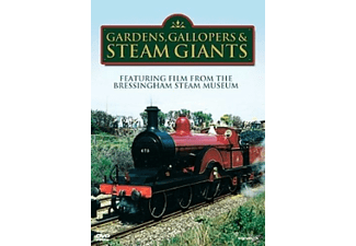 GARDENS,GALLOPERS & STEAM GIANTS - (DVD)