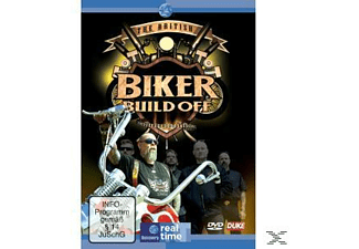 THE BRITISH BIKER BUILD OFF - (DVD)