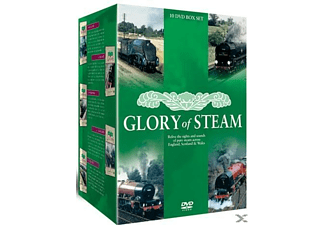 Glory Of Steam 10 Dvd Box Set - (DVD + Video Album)