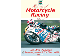 Castrol History of Motorcycle Racing - Vol. 3 - (DVD)