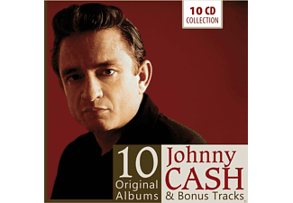 Johnny Cash - 10 Original Albums - (CD)