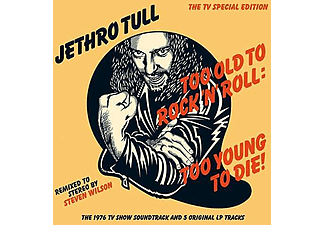 Jethro Tull - Too Old To Rock 'n' Roll - Too Young To Die! (CD)