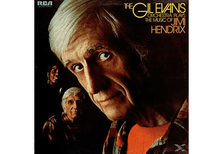 Gil Evans - The Gil Evans Orchestra Plays The Music Of Jimi Hendrix - (Vinyl)