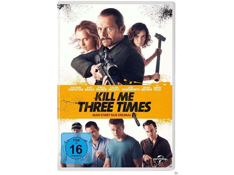 Kill me three Times [DVD]