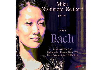 Miku Nishimoto-neubert - Nishimoto-Neubert Plays Bach - (CD)