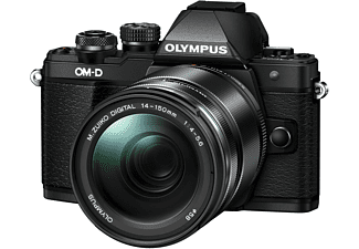 OLYMPUS OM-D E-M10 Mark II Zwart + 14-150mm