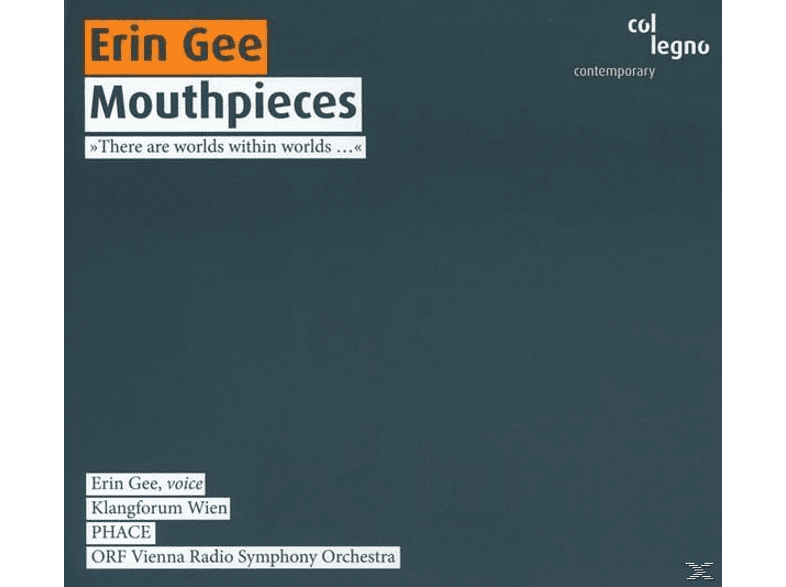 Klangforum Wien, Phace, ORF Vienna Radio Symphony Orchestra - Mouthpieces [CD]