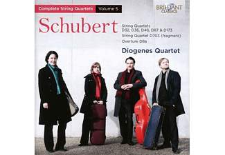 Diogenes Quartet - String Quartets Vol. 5 - (CD)