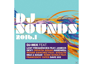 VARIOUS - Dj Sounds 2016.1 - (CD)