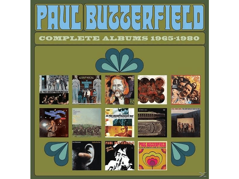 Paul Butterfield - Complete Albums1965-1980 [CD]