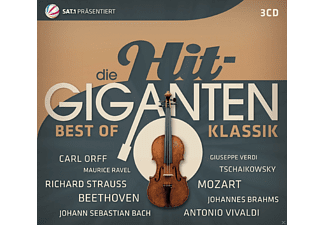 VARIOUS - Die Hit Giganten Best of Klassik - (CD)