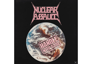 Nuclear Assault - Handle With Care (Ltd.Clear/Blue Splatter) - (Vinyl)