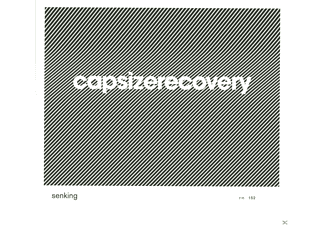 Senking - Capsize Recovery - (CD)