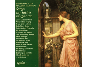 Malcolm Martineau Piano Sir Thomas Allen Baritone, ALLEN, THOMAS/MARTINEAU, MALCOLM - Songs My Father Taught Me - (CD)