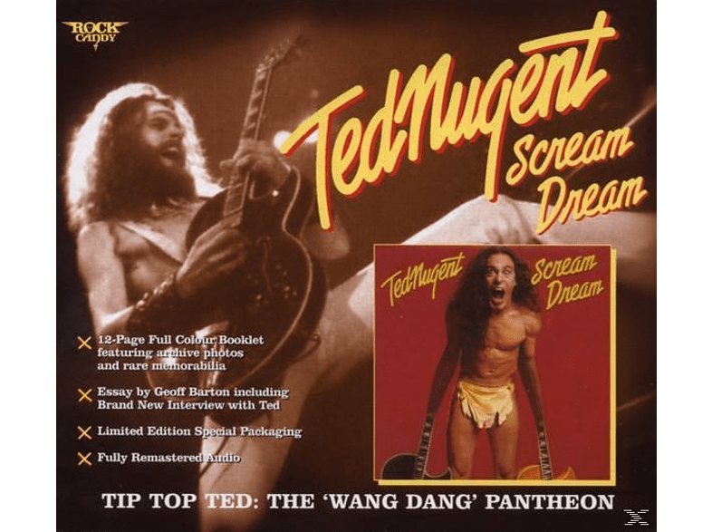 Ted Nugent - Scream Dream (Special Edition) [CD]