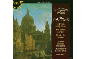 Paoi, Scott/Choir Of St.Paul's/PAOI - Te Deum & Burial Service - (CD)