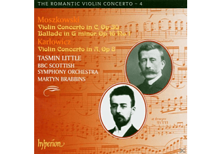 Brabbins, Bbcs, T. Little - Romantic Violin Concerto V.04 - (CD)