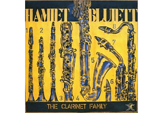 Hamiett Bluiett - THE CLARINET FAMILY LIVE IN BERLIN - (CD)