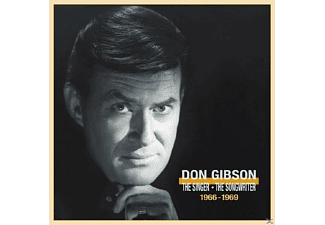 Don Gibson - Singer Songwriter 1966-69 - (CD + Buch)