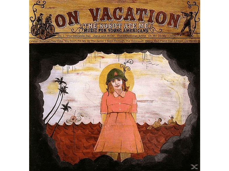 Robot Ate Me - On Vacation [CD]
