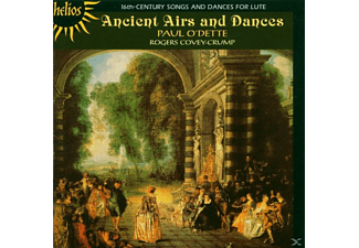 Paul O'dette, Rogers Covey-Crump - 16Th Century Songs And Dances For Lute - (CD)