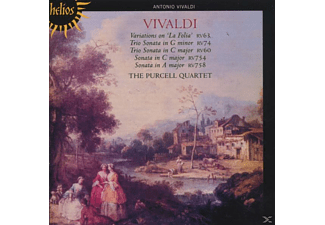 The Purcell Quartet - Variations On La Folia - (CD)
