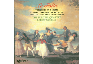 The Purcell Quartet, Robert Wolley - La Folia-Variations On A Theme - (CD)