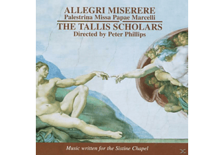 The Tallis Scholars - MISERERE - (CD)
