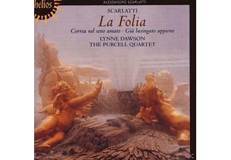 Dawson, Dawson,Lynne/Purcell Quartet,The - La Folia-Cantatas - (CD)
