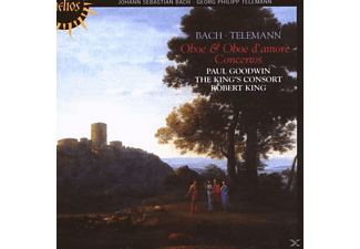 Paul Goodwin, The King's Consort, Goodwin,Paul/King's Consort,The - Konzerte F.Oboe/Oboe D'Amore - (CD)