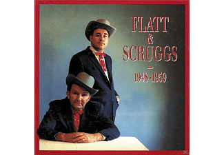 Flatt & Scruggs - 1948-1959   4-CD & Book/Buch - (CD + Buch)