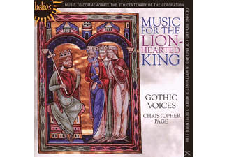 Gothic Voices, Christopher Page: Gothic Voices - Music For The Lionhearted King - (CD)