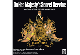 On Her Majesty's Secret Service OST LP