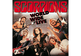 Scorpions - World Wide Live (50th Anniversary Deluxe Edition) [CD + DVD Video]
