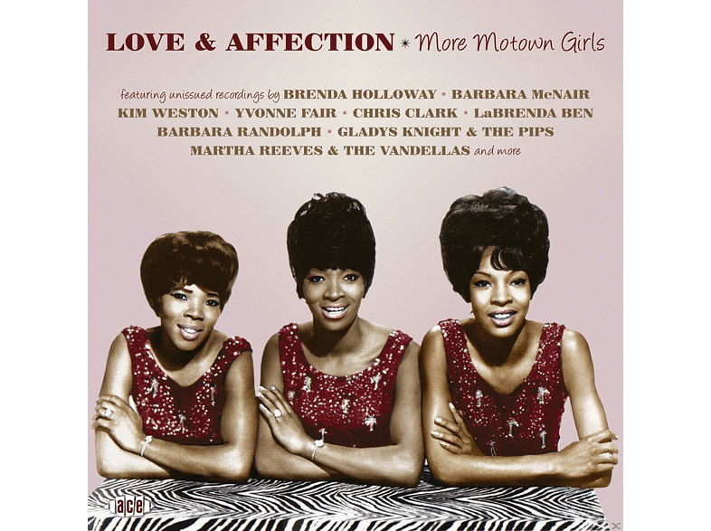 VARIOUS - Love & Affection-More Motown Girls [CD]