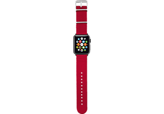 TRUST Nylon Wristband för Apple Watch 42mm - Röd