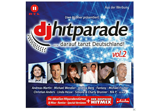 VARIOUS - Dj  Hitparade Vol.2 - (CD)