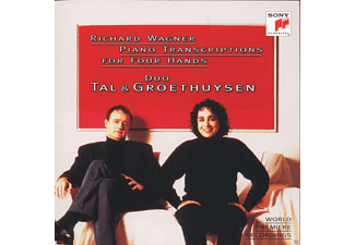 Tal & Groethuysen - Piano Transcriptions For Four Hands - (CD)