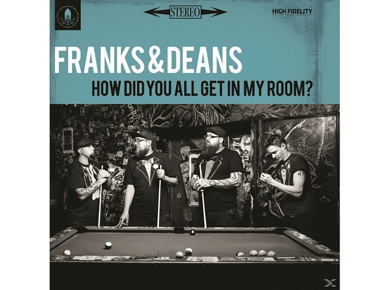 Frank & Deans - How Did You All Get In My Room? [CD]