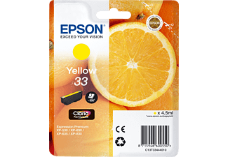 EPSON Original Tintenpatrone Orange Gelb (C13T33444010)