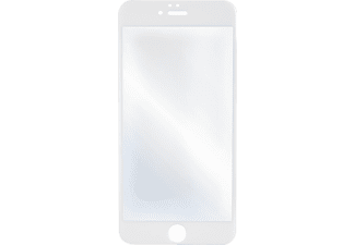 HAMA 3D-Full-Screen, Schutzglas, Transparent/Weiß, passend für Apple iPhone 6, iPhone 6s