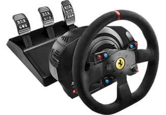 THRUSTMASTER Volant gaming intégral Ferrari T300 Racing Wheel Alcantara Edition (4160652)