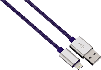 HAMA Color Line, Lightning-Kabel, Blau