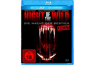 Night Of The Wild-Die Nacht Der Bestien 3d (Uncut) - (3D Blu-ray (+2D))