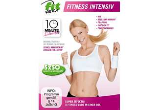 Fit for Fun - 10 Minute Solution: Fitness Intensiv - (DVD)